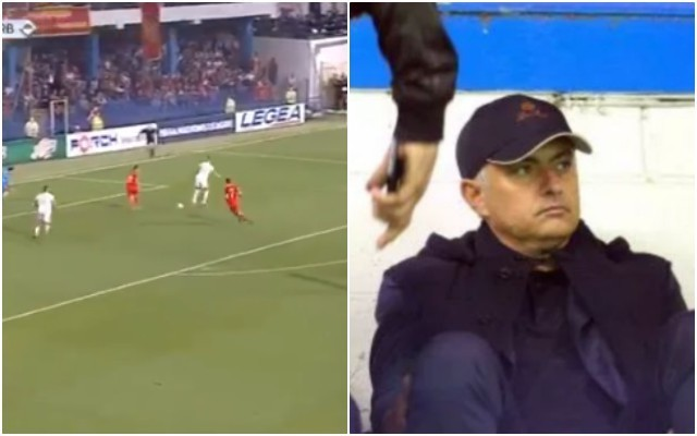 Video: Sergej Milinkovic-Savic pulls off INSANE assist in front watching Jose Mourinho