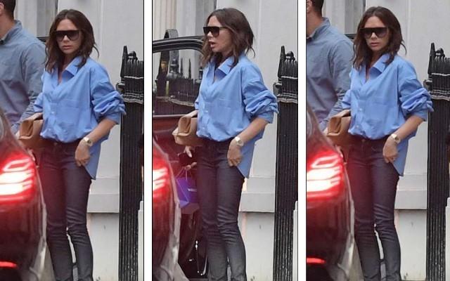 Pictures: Victoria Beckham looks gloomy amid divorce rumours
