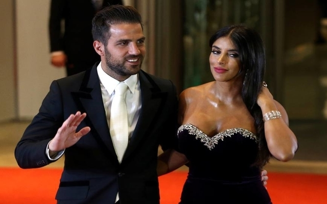 Photo: Chelsea star Cesc Fabregas and Daniella Semaan reveal brilliant news