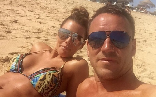 John Terry and wife Toni Terry