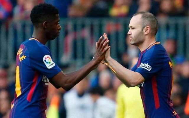 Video: What Barcelona fans chanted at Andres Iniesta after coming on against Athletic Bilbao