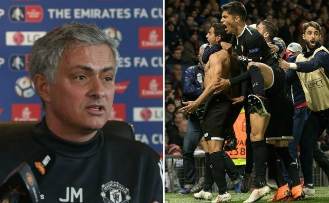 How many Sevilla players would actually get in the Manchester United team after Jose Mourinho's epic rant?