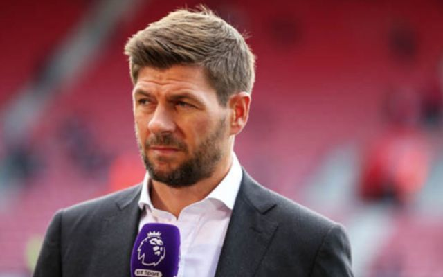 """He certainly makes Manchester United a lot stronger"" - Liverpool legend Steven Gerrard praises Man United ace, gives advice on how player can improve his game"