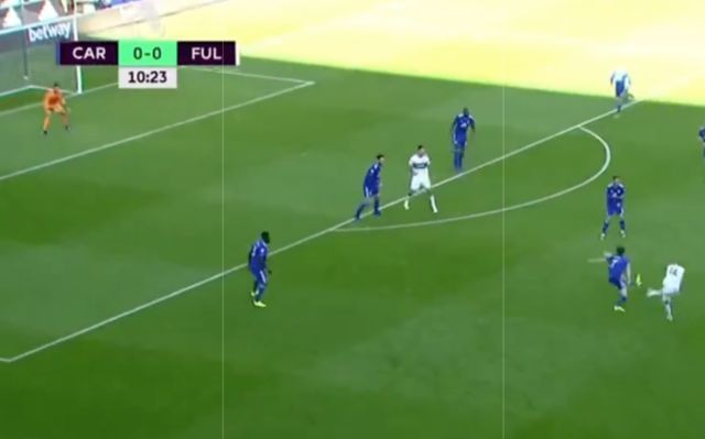 Video: Andre Schurrle scores 35-yard wonder goal for Fulham to give the Whites 1-0 lead vs Cardiff