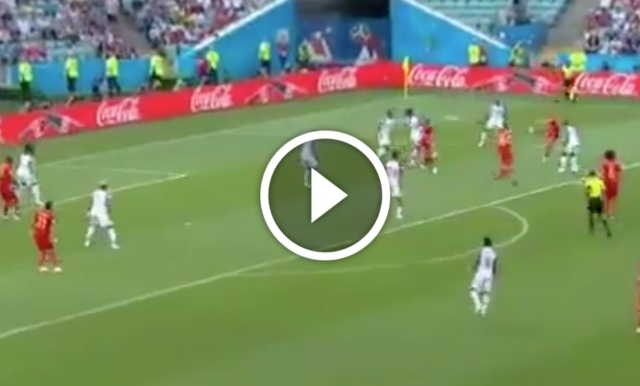 Video: Dries Mertens scores sensational goal for Belgium to break deadlock against Panama