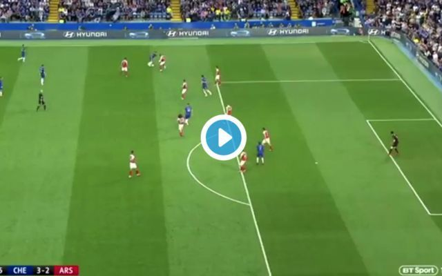 Video: Superb work from Eden Hazard allows Marcos Alonso to give Chelsea the lead in Arsenal clash