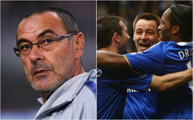 Chelsea news: Maurizio Sarri John Terry coach talks