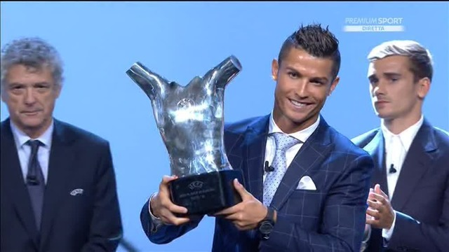 Cristiano Ronaldo wins UEFA Player of the Year and gives a really humble speech [Video]