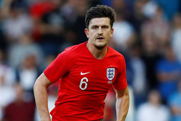 England star Harry Maguire