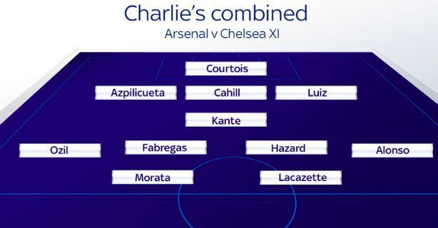 Arsenal Chelsea combined XI