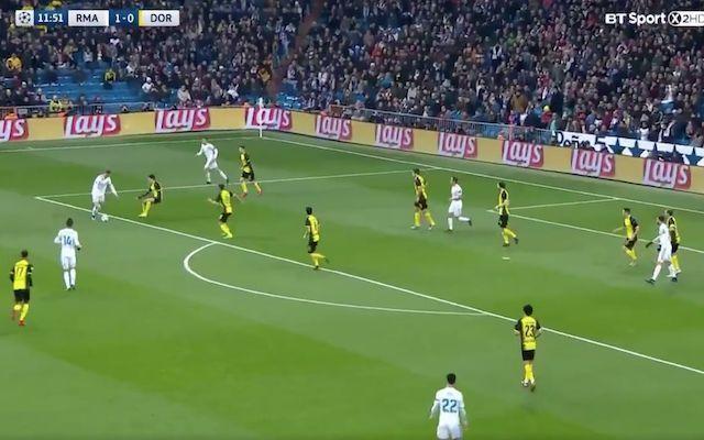 Video: Superb Ronaldo goal breaks historic Champions League record as Real Madrid triumph over Borussia Dortmund