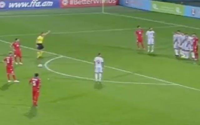 Video: Henrikh Mkhitaryan free-kick seals Armenia win as Arsenal ace dazzles with two assists