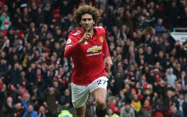 Fellaini Manchester United