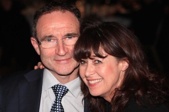 Martin O'Neil & wife