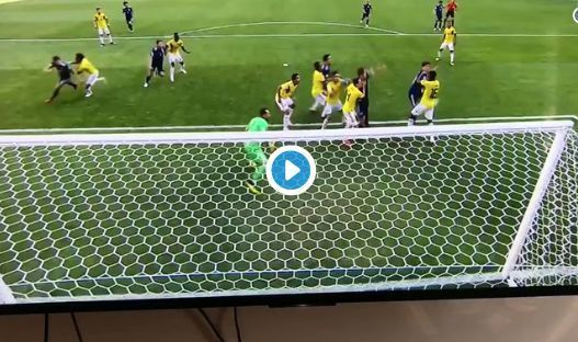 Video: Yuya Osako headed goal for Japan vs Colombia