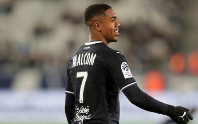 Bordeaux winger Malcom