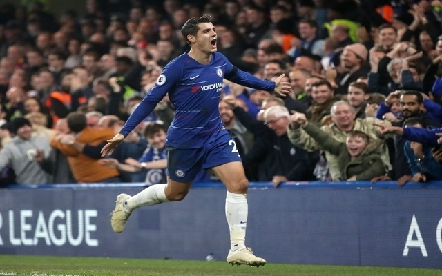 Alvaro Morata starting to fit into Sarri's plans