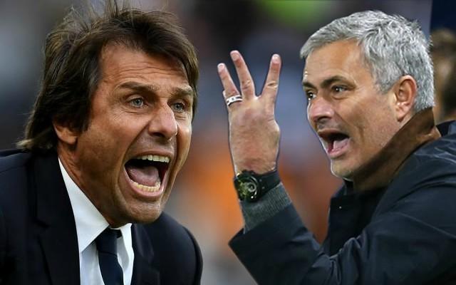 Manchester United boss Jose Mourinho aims latest SWIPE at Chelsea's Antonio Conte