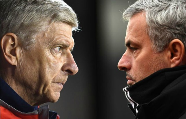 Arsenal boss Arsene Wenger hopeful of ruining Jose Mourinho's Manchester United transfer plans