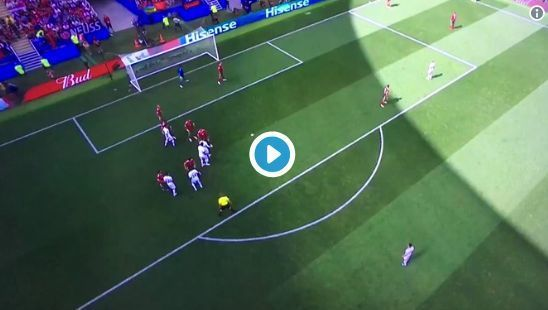 Video: Cristiano Ronaldo makes history with superb headed goal for Portugal vs Morocco | CaughtOffside