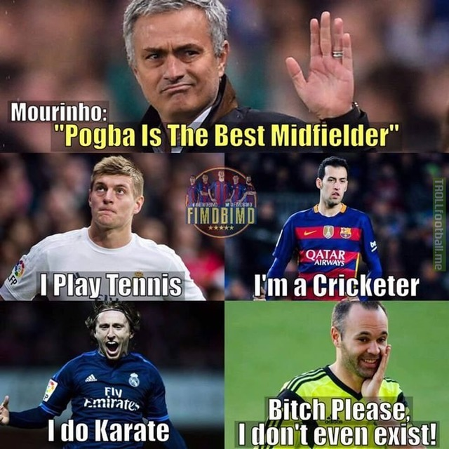 Image result for memes about Pogba