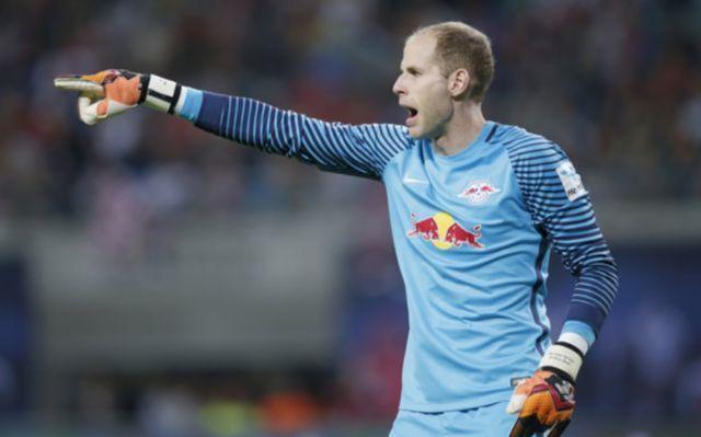RB Leipzig goalkeeper Peter Gulacsi