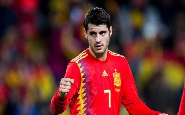 Hilarious reaction to Alvaro Morata being subbed on for Spain