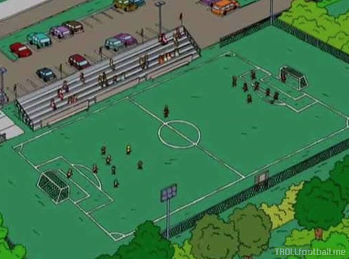Freaky: The Simpsons also predicted the number of fans Man City would have.