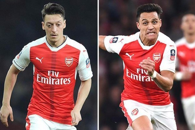 Arsenal's superb new-look XI if they complete transfer raids on Real Madrid and Barcelona in bid to replace Alexis Sanchez and Mesut Ozil