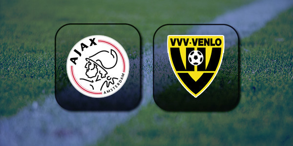 VIDEO Ajax vs VVV-Venlo (Eredivisie) Highlights