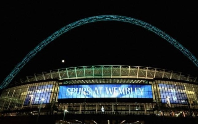 Watch: Wembley empty as Tottenham woefully struggle to sell tickets for EFL Cup clash