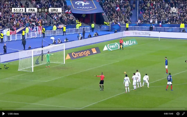 Video: Chelsea's Giroud scores a penalty for France