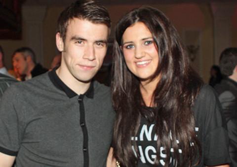 Seamus Coleman and Rachel Cunningham