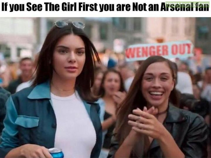 Arsenal fans...