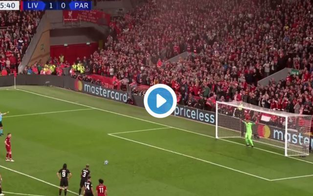 Video: Milner penalty gives Liverpool 2-0 lead, PSG hit back instantly through Meunier volley