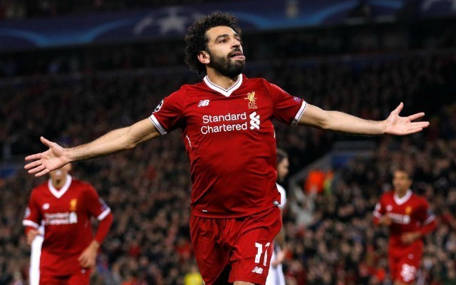 mohamed salah. top 10 forwards in Europe's top 5 leagues