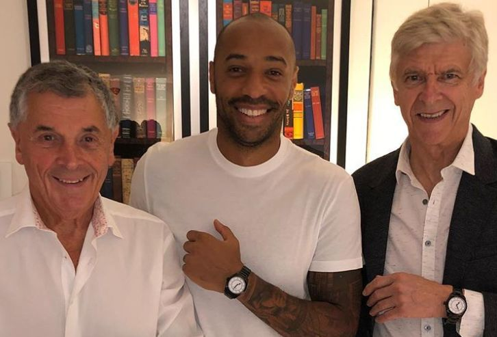 Arsenal news: Henry and Wenger on Instagram