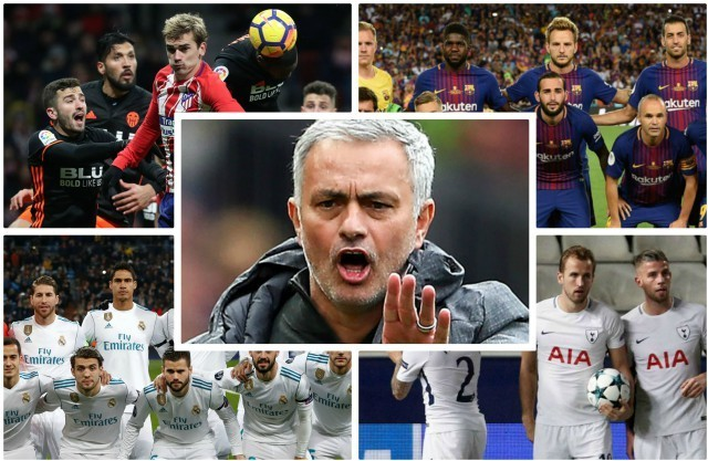 Jose Mourinho submits FIVE-man wish-list to Manchester United in STUNNING squad overhaul