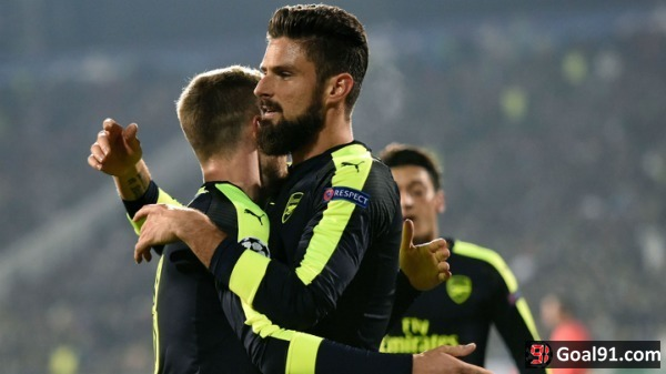 Champions League: Ozil completes stunning comeback against Ludogorets to clinch qualification