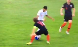 Video: Manchester United's Marcus Rashford embarrasses Luka Modric with skill in England vs Croatia   Goal91