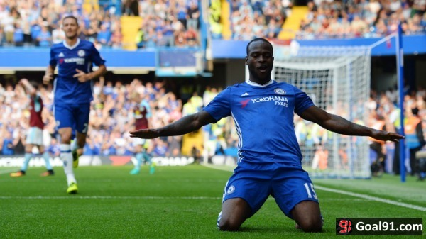 Premier League: Victor Moses back from the cold to become invaluable Chelsea star
