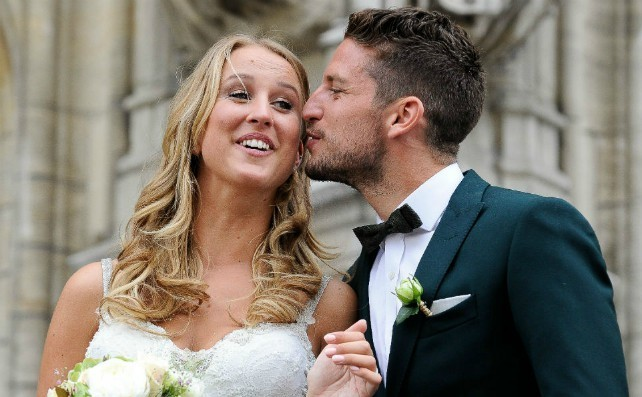 (Image) Napoli star Dries Mertens destroyed by absolutely savage banter from his wife Kat Kerkhofs | CaughtOffside
