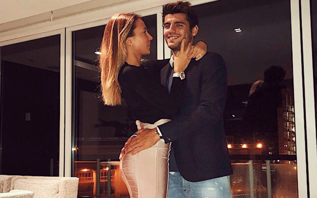 (Photos) Alvaro Morata's gorgeous wife Alice Campello puts smile back on his face as he clears up comments