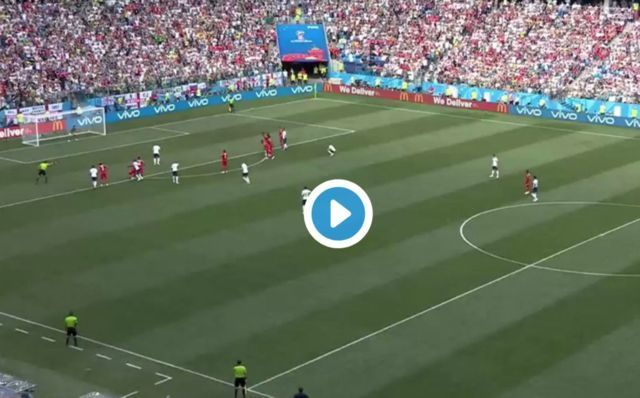 Video: Panama fail with cheeky kick-off attempt vs England as Three Lions celebrated Harry Kane strike