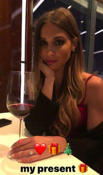 Mario Gotze's girlfriend Ann-Kathrin Brommel
