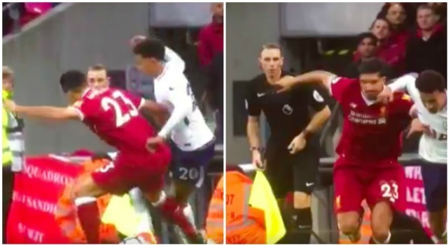 'Wow': Dele Alli's nutmeg on Liverpool's Emre Can was so savage even the linesman was blown away - video