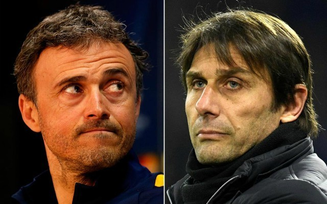 Mind games? Barcelona star explains why Luis Enrique could be coming for Antonio Conte's job ahead of Chelsea clash