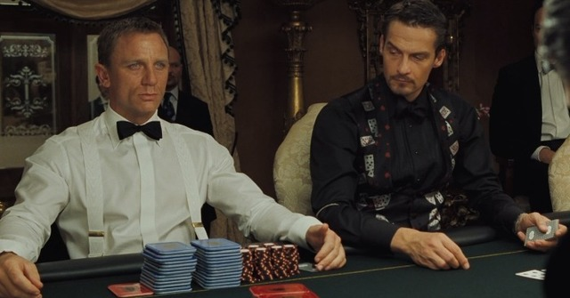 Cheeky Punt: Casino Royale. Ish. Actually, not at all.