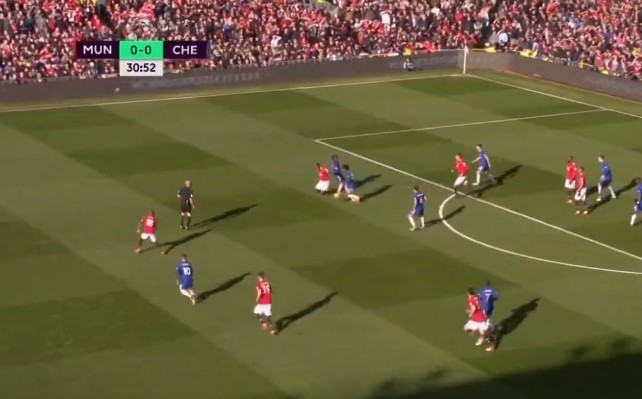 'What a fraud' - Paul Pogba destroyed by fans for bottling challenge that led to Chelsea goal vs Manchester United