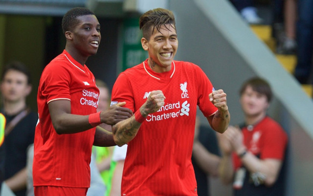 (Photo) Liverpool heap praise on Roberto Firmino